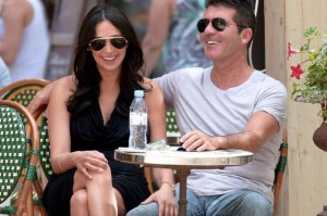 simon cowell and pregnant girlfriend