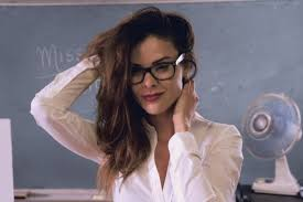 Looking sexy in glasses