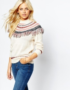 asos fringe sweater