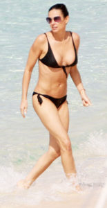 demi moore body